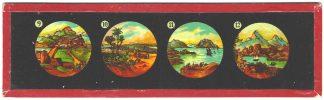 Skleněné obrázky do promítačky Laterna Magica
